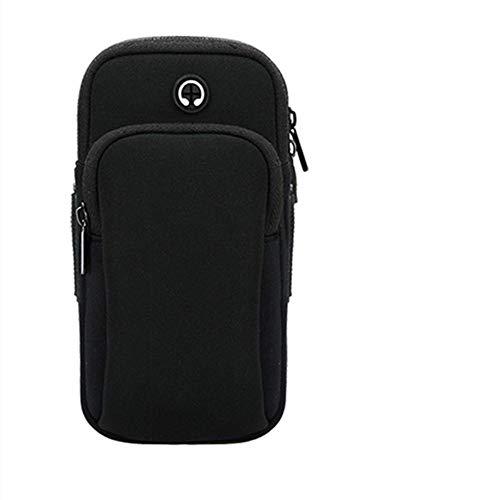 ILYO Téléphone Portable Bras Sac extérieur Bras Bras Hommes et Femmes Sport Bras Sac écouteur Trou Courant Sac de Bras
