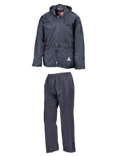 Regenanzug ( Jacke und Hose), absolut wasserdicht ,navy, L L,Navy