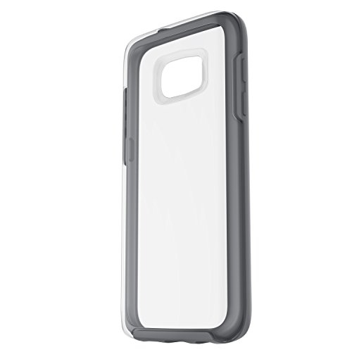 Otterbox Symmetry Clear - Funda para Samsung Galaxy S7, Color Gris Cristal