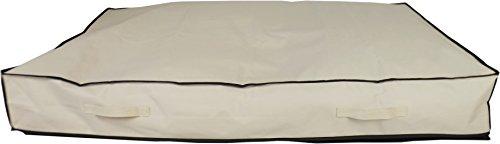 Neusu Underbed Storage Bag for Comforters - Beige Jumbo XXL 180 Liters 49 x 31 x 7