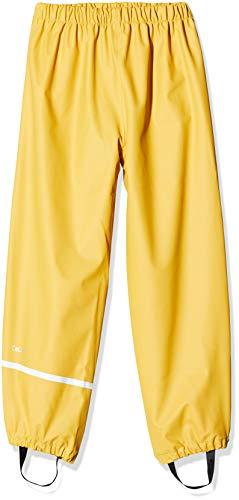 CeLaVi Mädchen Regenhose in viele Farben Regenjacke, Gelb (Mineral Yellow 372), (Herstellergröße:120)
