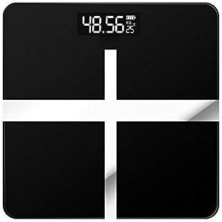 Báscula de baño digital Índice cuerpo de la escala de peso inteligente báscula baño báscula digital de pantalla LCD escala de peso electrónica báscula peso corporal (Color : China, Size : Battery)