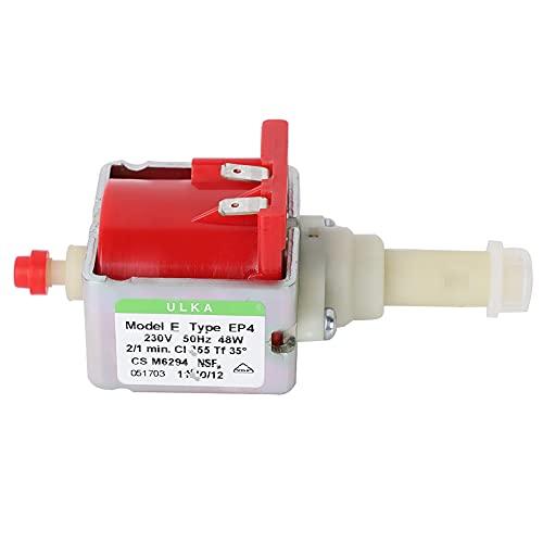 EU Plug 230V, wysokociśnieniowa elektromagnetyczna pompa wibracyjna Ekspres do kawy Pompa wodna do ekspresu do kawy Pompa wodna Medyczna mechaniczna pompa wodna(Napięcie 230V (EAP4))
