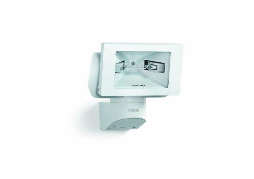 Steinel Halogen-Strahler H 150 weiß, inkl. 125 W Halogenstab, mit Keramik-Reflektor, schwenkbares Flutlicht, vernetzbar