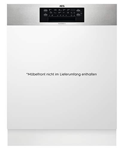 AEG FEE63727PM Integrierter-Geschirrspüler / 60cm / AirDry - perfekte Trocknungsergebnisse / A+++ / energiesparend / Besteckschublade / Glasprogramm / Beladungserkennung / extra leise