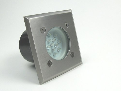 5er-Set Bodeneinbaustrahler LED 230V