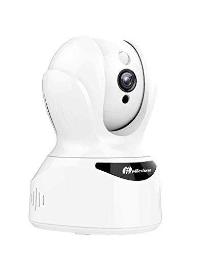Pet Camera, Security Camera 1080P HD Smart IP Wireless Camera with Sound Motion Detection Two-Way Audio, Pan/Tilt/Zoom WiFi Surveillance with Night Vision for Pet Baby Monitor, Compatible with Alexa.