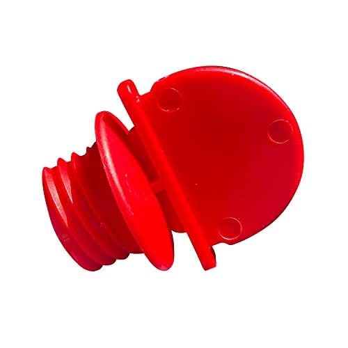 OKBABY 39270000, Kit Tappo e Chiave per Vaschette OKBABY - Si Usa con Onda, Onda Evolution, Onda Baby, Laguna, Oplà e Space - Non Adatto per Onda Slim, Rosso