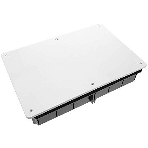 BeMatik - Caja empotrada de Registro eléctrico Rectangular 300x200x60 mm