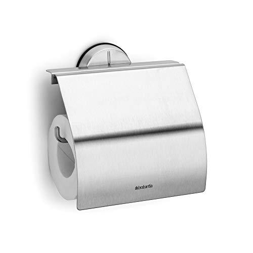 Brabantia 427626 Dérouleur de Papier Toilette Matt Steel