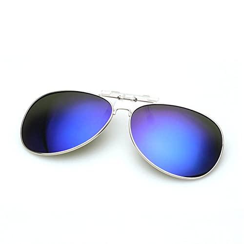 Gaviny Gafas de Sol, Gafas de Sol de Hombre polarizadas con Clip, Gafas de visión Nocturna con Clip para miopía, Gafas de Hombre