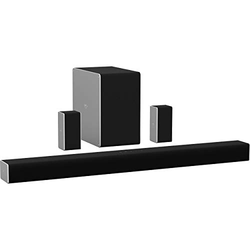 """VIZIO SB36514-G6 36"""" 5.1.4 Premium Home Theater Sound System with Dolby Atmos and Wireless Subwoofer,Black (Renewed)"""