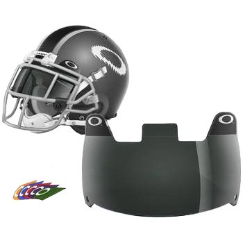 Oakley Shield Men's Football Helmet Accessories - 20% Grey / One Size