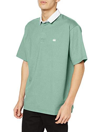 [カンタベリー] ポロシャツ S/S SOLID COLOR RU メンズ メロン 日本 3L (日本サイズ3L相当)
