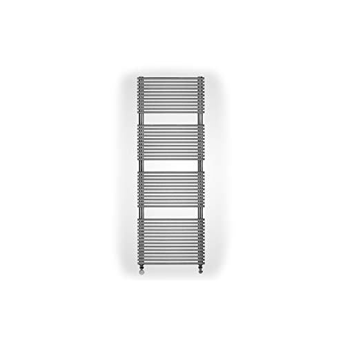 Radiador Toallero de pared, temperatura máxima de 110ºC, serie EL, 12 x 50 x 141 centímetros (Referencia: 7222282)