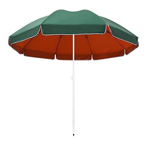 YXFF Paraguas Redondo de 2,2 m, sombrilla de balcón, sombrilla de jardín al Aire Libre, Impermeable / Upf50 + sombrilla, toldo para Patio de Mercado