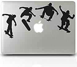 Pegatina de vinilo para ordenador portátil, para iMac MacBook, skate, tabla de skate