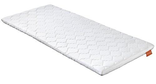 sleepling 190173 viscoelastischer Topper Basic Viscoschaum mit Memory Effekt 100 x 200 x 6 cm, weiß