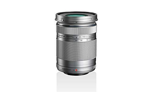 Objetivo Olympus M.Zuiko Digital ED 40 - 150mm F4 - 5.6 II, teleobjetivo, adecuado para todas las cámaras MFT (modelos Olympus OM-D & PEN, serie G de Panasonic), plata