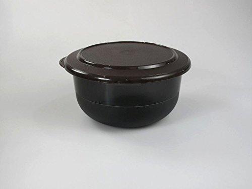TUPPERWARE Ciotola 1,1L nero morrone C22 scatola senza bordo 9895
