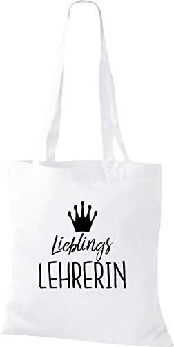 Shirtstown Bolsa de tela, diseño con texto en alemán, color Blanco, talla 38 cm x 42 cm