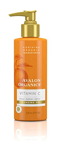 Avalon Organics Cleansing Gel with Vitamin C, 6 Oz