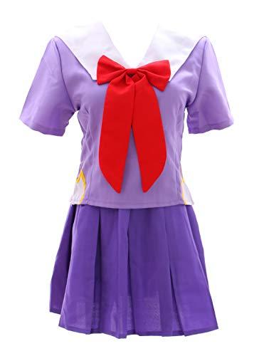 Kawaii-Story MN-01-2 Mirai Nikki Yuno Gasai lila Schuluniform Fasching Kostüm Set Manga Anime Cosplay (XL)