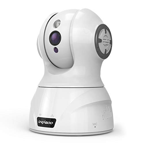 CACAGOO Video Baby Monitor, Security WiFi IP Camera 1080P, Indoor Home Wireless Camera with Motion Detection Night Vision with 2-Way Audio for Baby/Pet/Elder Cameras Dome