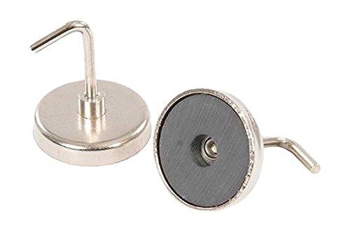 Silverline 695776 Magnetische Haken, 2er-Pckg. 35 mm