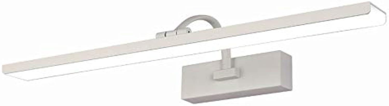 Badezimmer Lichter Spiegel vordere Lichter Badezimmer führte wasserdichte Wand-Lampe Badezimmer-Toiletten-Spiegel-Kabinett-Lichter Rost-Verfassungs-Lampen Badezimmer führte wasserdichte Wand-Lampe