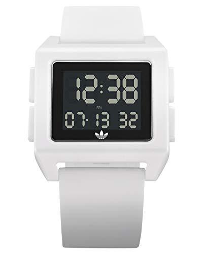 Adidas by Nixon Unisex– Erwachsene Digital Quarz Uhr mit Kunststoff Armband Z15-100-00