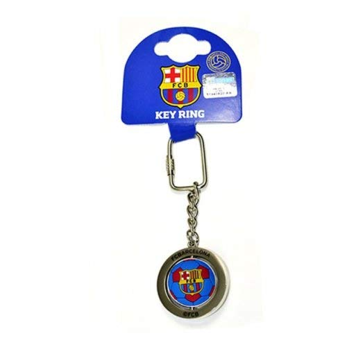 Barcelona Football Spinne Keyring - One Size