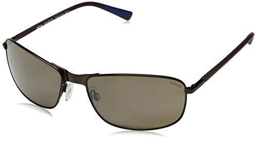 Revo Polarisierte Sonnenbrille, Lockvogel, rechteckiger Rahmen