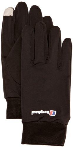 Berghaus Erwachsene Handschuhe Berg Liner Gloves AU, Black, XL