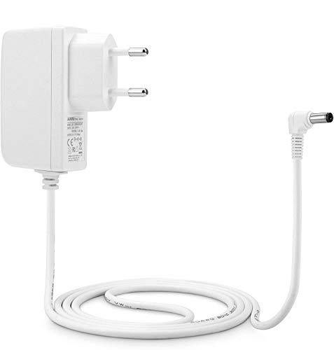 Aukru Chargeur Secteur 7.5V Adaptateur Alimentation pour Vtech - 163405 - Jeu Électronique - Kidimagic Color Show - Blanc