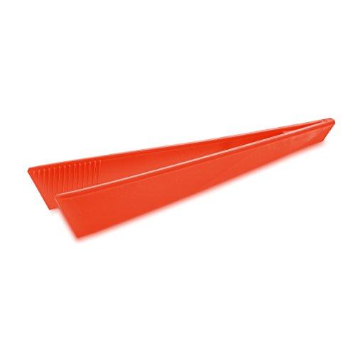 koziol pince de Cuisine Kant, thermoplastique, rouge orangé, 5 x 6 x 33,5 cm