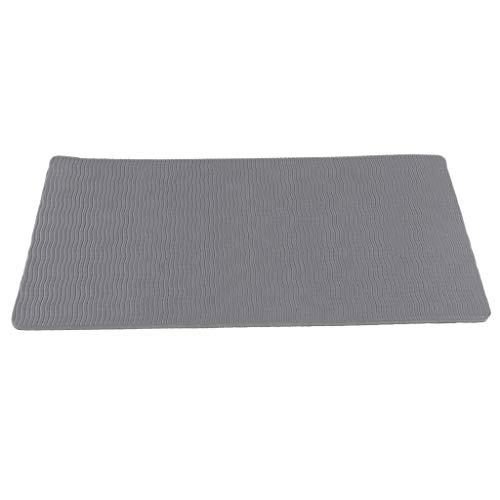 Sharplace 1 Pieza de Alfombra para Yoga y Fitness Hecho de Material EVA - Gris