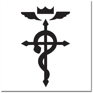 Fullmetal Alchemist Brotherhood: Flamel Temporary Tattoo