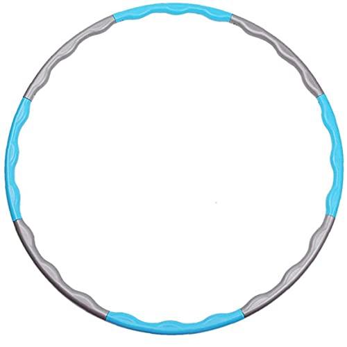 Fitness Reifen Hoop für Erwachsene Kindern 8 Taille 80cm zur Gewichtsverlust Slim Hula Sport Reifen Hoop Fitnessübungen mit Massagenoppen Gymnastik Bauchtrain Hula Reifen Erwachsene Anfänger Abnehmen
