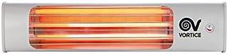 Vortice 70015 - Calefactor (Calentador infrarrojo, Interior, Gris, 1800 W, 600 W, 230 V)