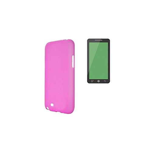 X-one 123662 - Funda Tipo TPU para Wiko Pulp, Color Rosa