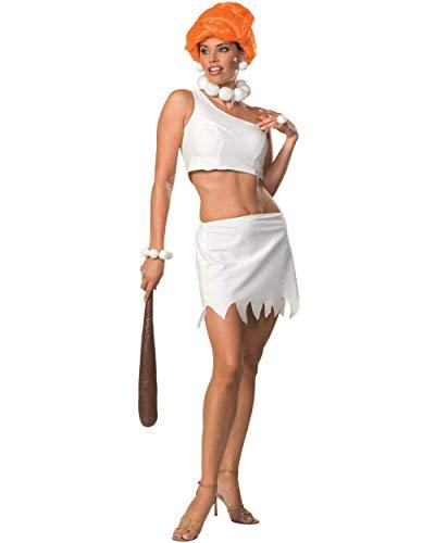 Secret Wishes Women's The Flintstones Sassy Adult Wilma Flintstone Costume, Multicolor, Medium