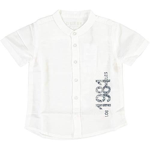 Guess Kid Bimbo Camicia White Mod. N02H03 WBHE0