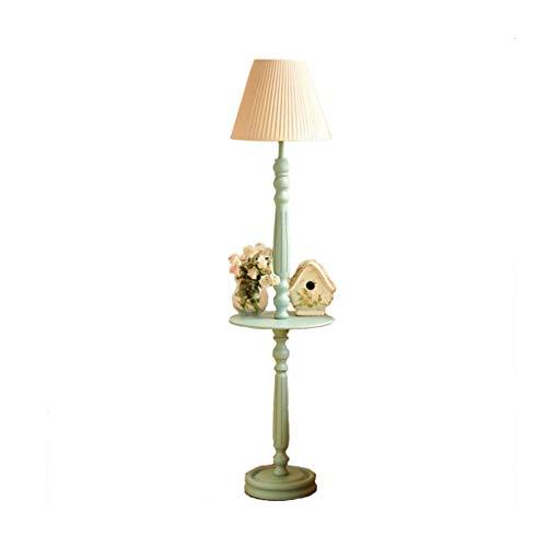 Staande lamp met salontafel Living Room Leeslamp Franse Slaapkamer Nachtlampjes Storage Lamp Thuis Mahjong Table Vertical Light LED (Color : A, Size : 40cm*160cm)
