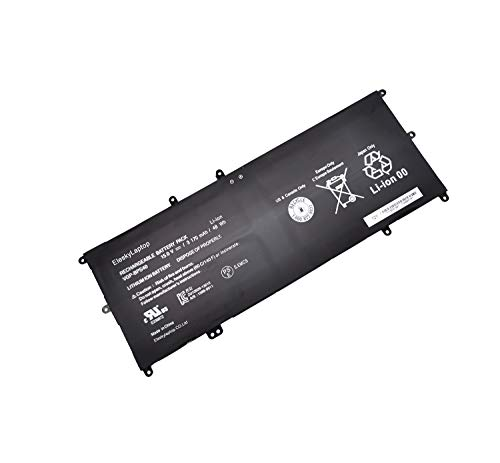 For Sale! 48WH Battery VGP-BPS40 Compatible with Sony Vaio Flip SVF 15A SVF15N17CX 14A Laptop