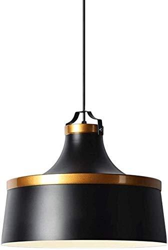 Exquisito Foco for techo, dormitorio Luminarias for los techos, techo de la sala de luz, for la oficina comedor dormitorio Sala de estar brillante (Color : Black)