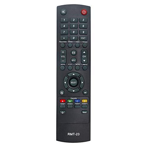 RMT-23 V2 Mando a Distancia de Repuesto - VINABTY Reemplace RMT-23 Control Remoto para Westinghouse EU40F1G1 CW50T9XW DWM40F1G1 DWM40F2G1 EW40F1G1 TV RMT-23V2 Remote Controller