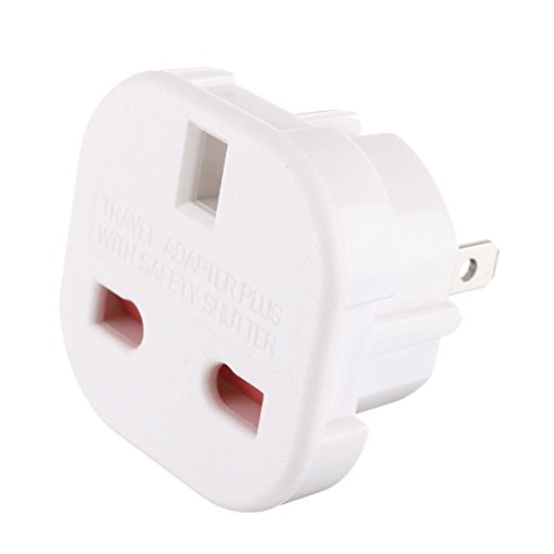 TEC UK - 5 X UK to US Travel Adaptor suitable for USA, Canada, Mexico, Thailand - Refer to Description for country list