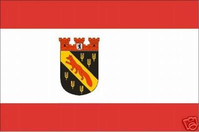 Fahne Stadt Berlin Reinickendorf Flagge Grösse 1,50x0,90m - FRIP –Versand®