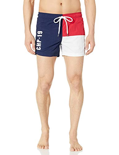 Champion Life Herren Badehose European Collection mit Kordelzug (Limited Edition) - - X-Groß